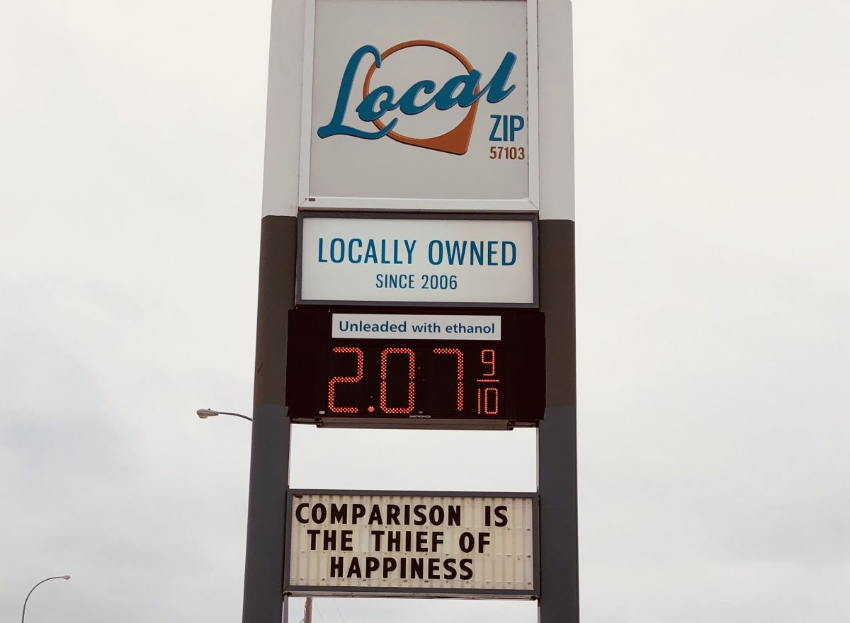 Funny Gas Sign