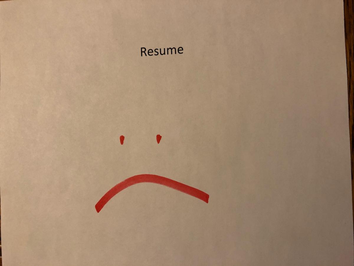 Sorry Resume